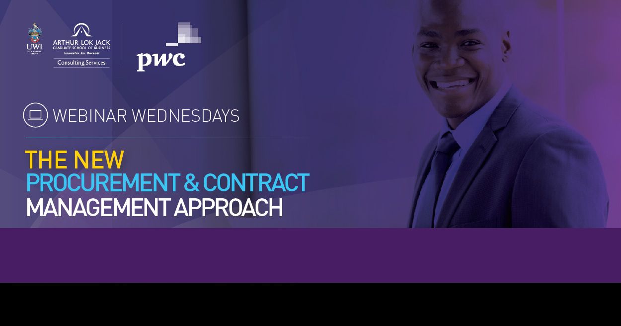 The New Procurement & Contract Management Approach Webinar