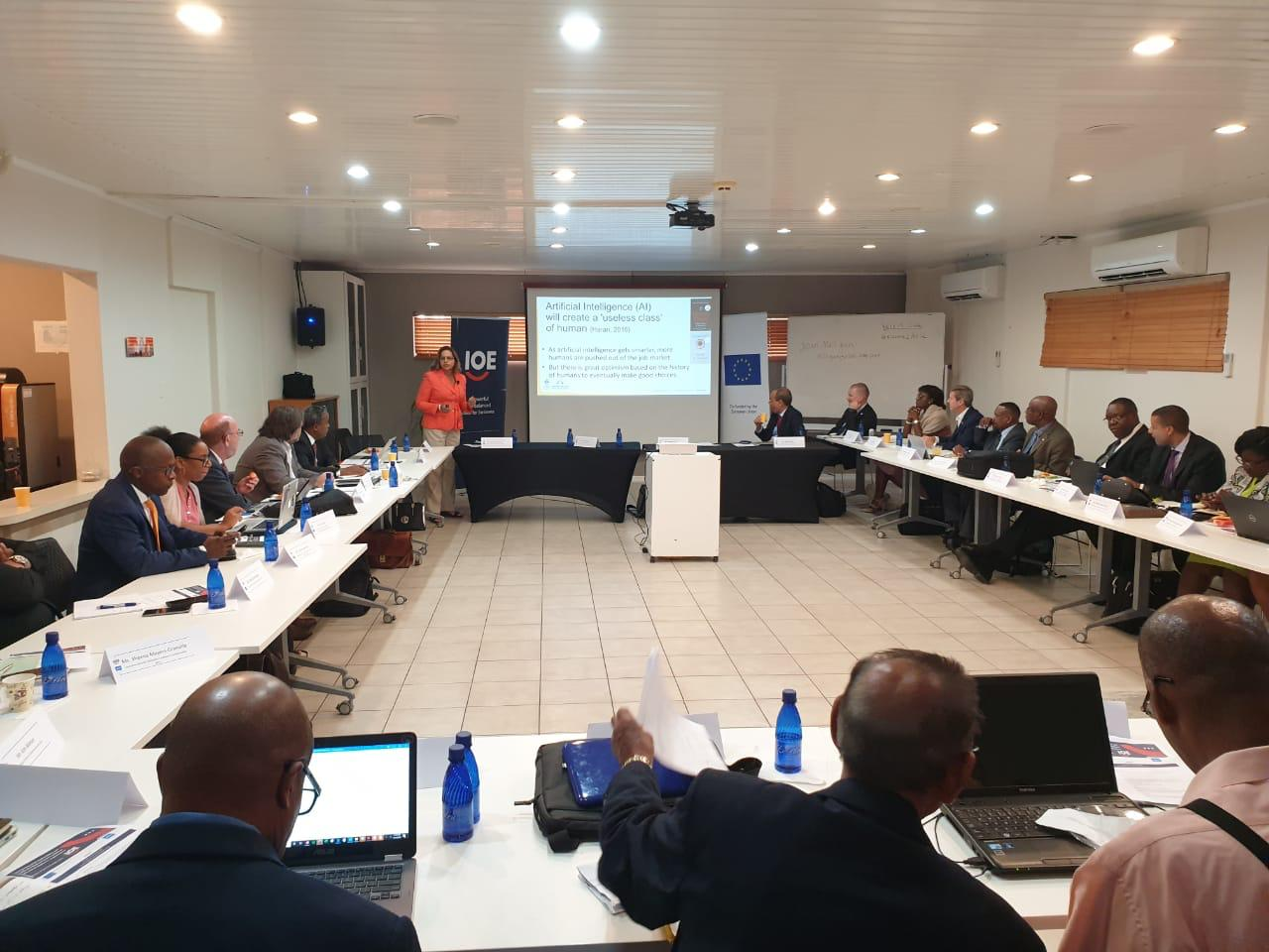 Over 25 Employer Organisation Representatives Met to Discuss Youth Employability and Skill Development at International Workshop in Aruba