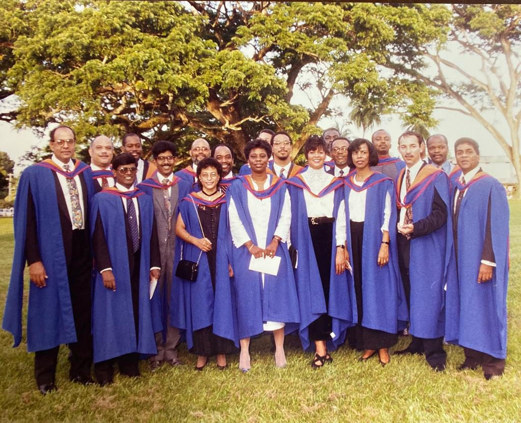 First class graduates from the IOB