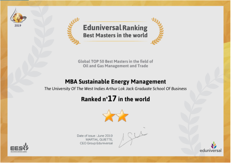 Received top rankings in the Eduniversal Best Masters Ranking for the EMBA and MBA SEM