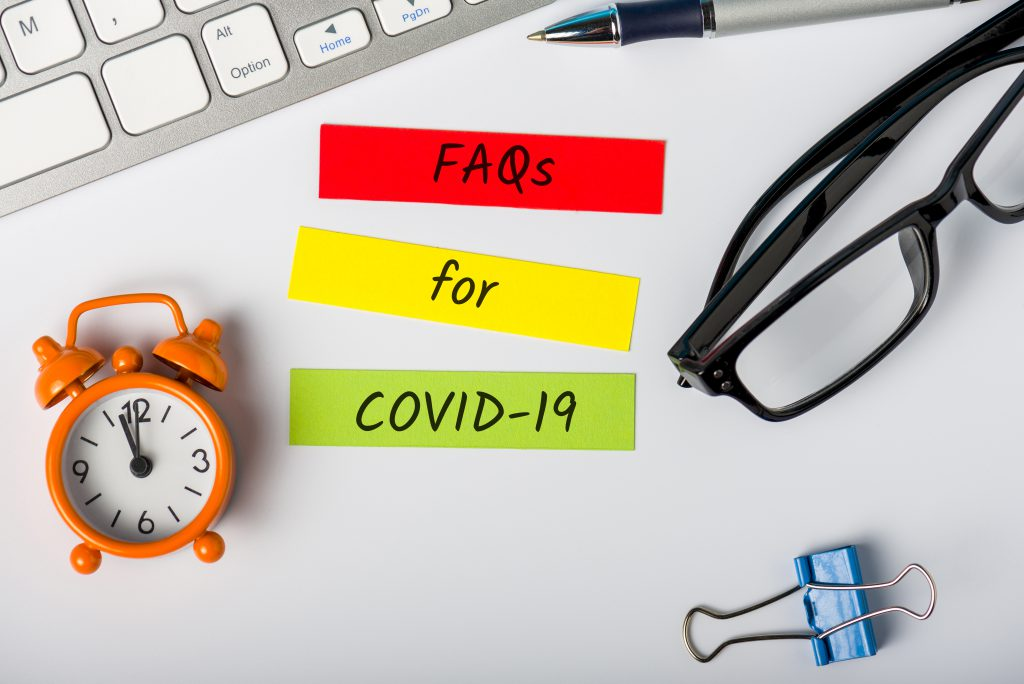 FAQs for COVID-19