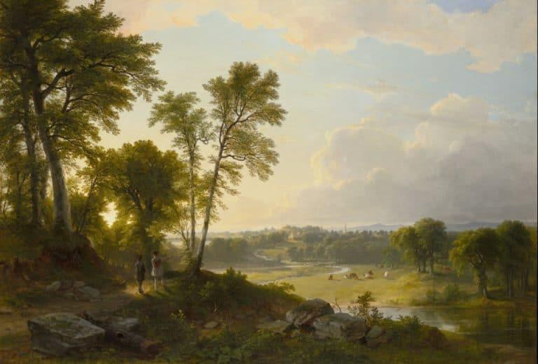 Loving Living - Asher B. Durand (1796-1886)